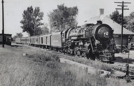 NYC Passenger Train at Lake Orion MI